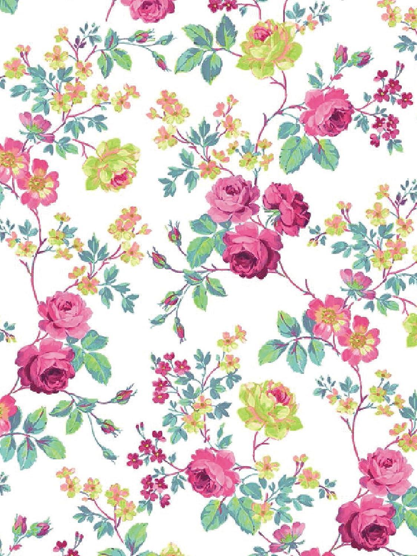 Clairefontaine Decopatch Papers - Stampa con fiori orientali, 395 x 298 mm, confezione da 3, colori: Rosa/Blu/Viola C/DPP-592