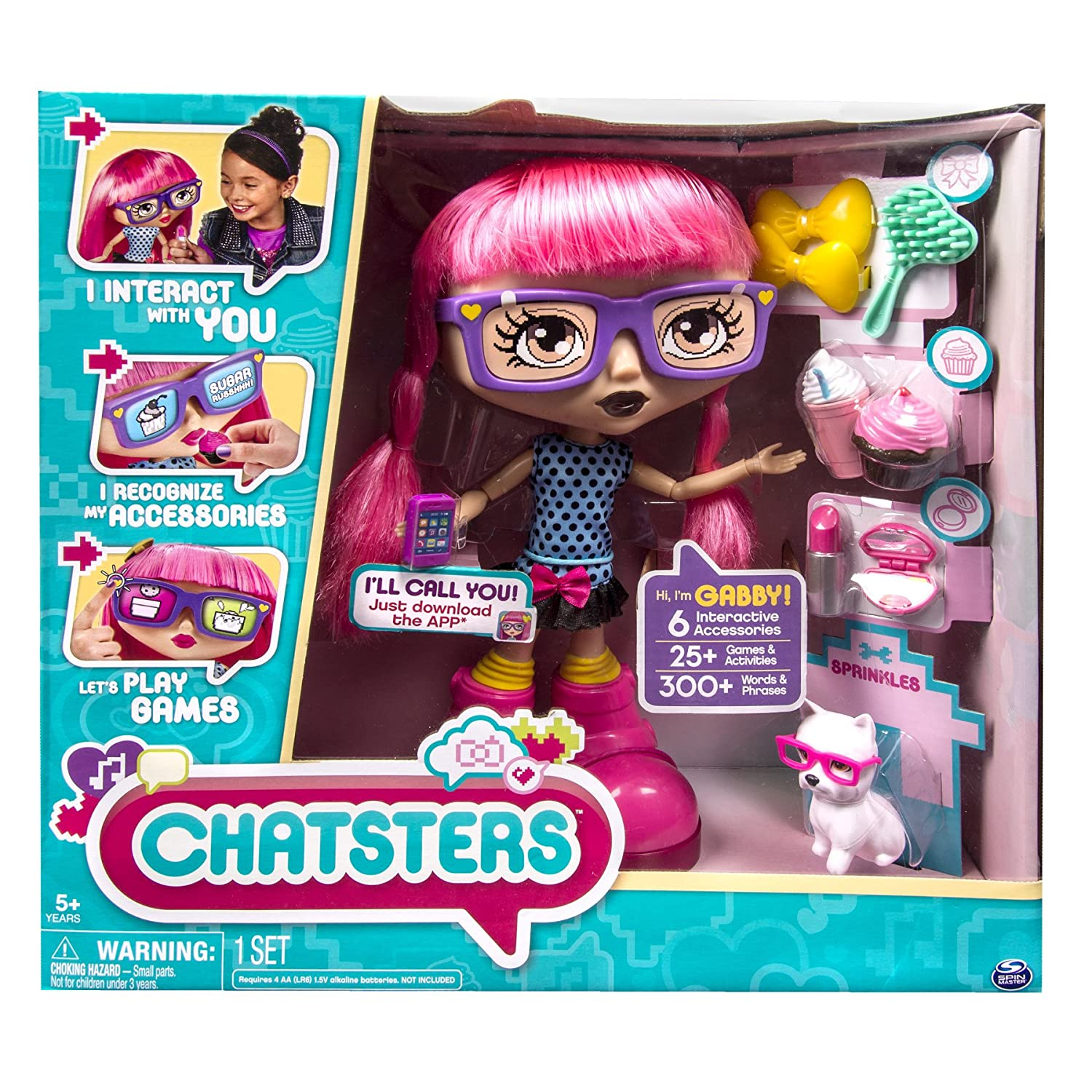 Amazon Chatsters Gabby Interactive Doll Toys & Games