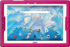 BobjGear Bobj Rugged Tablet Case for Acer Iconia B3-A40 and B3-A30 Kid Friendly (Rockin' Raspberry)
