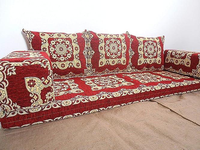 Amazon.com: floor seating,floor cushions,arabic seating,arabic ...