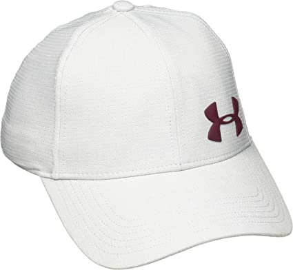 Under Armour Gorra para Hombre Airvent Core Golf, Overcast Gray ...