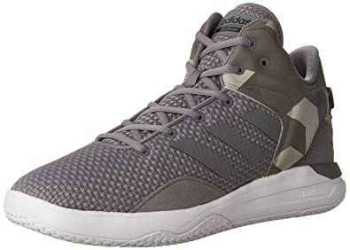 pretty nice 8e9e3 6f9e5 adidas Mens Cloudfoam Revival Mid Basketball Shoes, Tech GreyBlack, (7 M