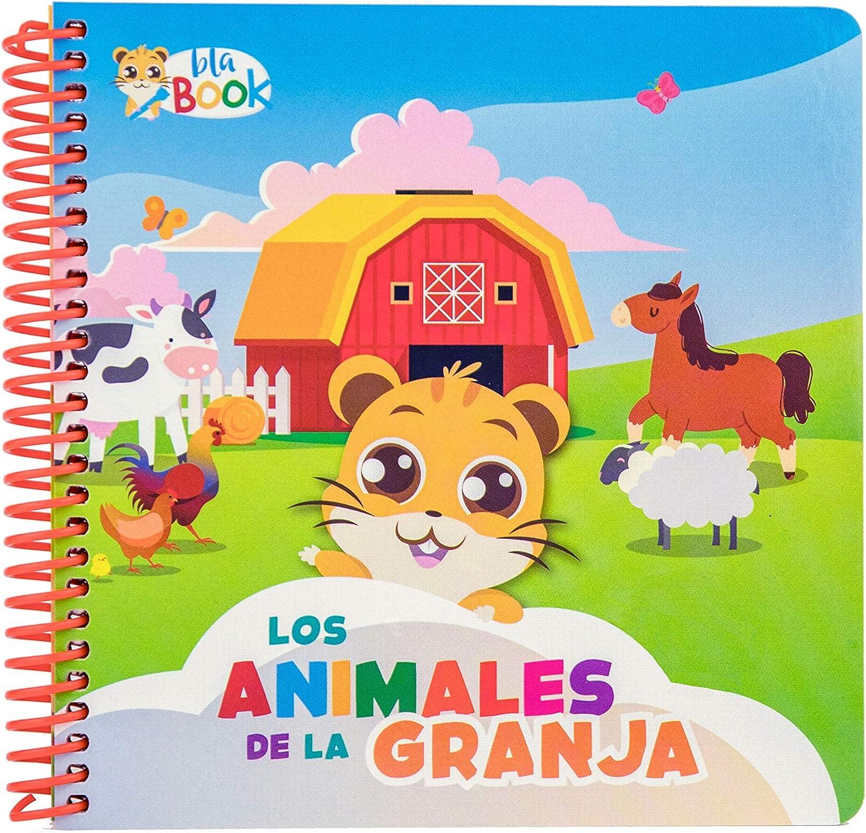 blaBOOK Libro Interactivo Infantil para Niños de 2 a 5 años con Sonido, Los Animales de la Granja | NO Contiene Lápiz Lector: Amazon.es: Juguetes y juegos