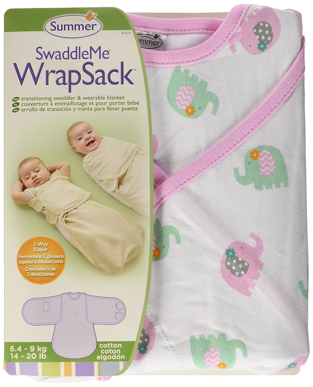 SwaddleMe 87674 Swaddle Me Wrap Sack Ellie Love