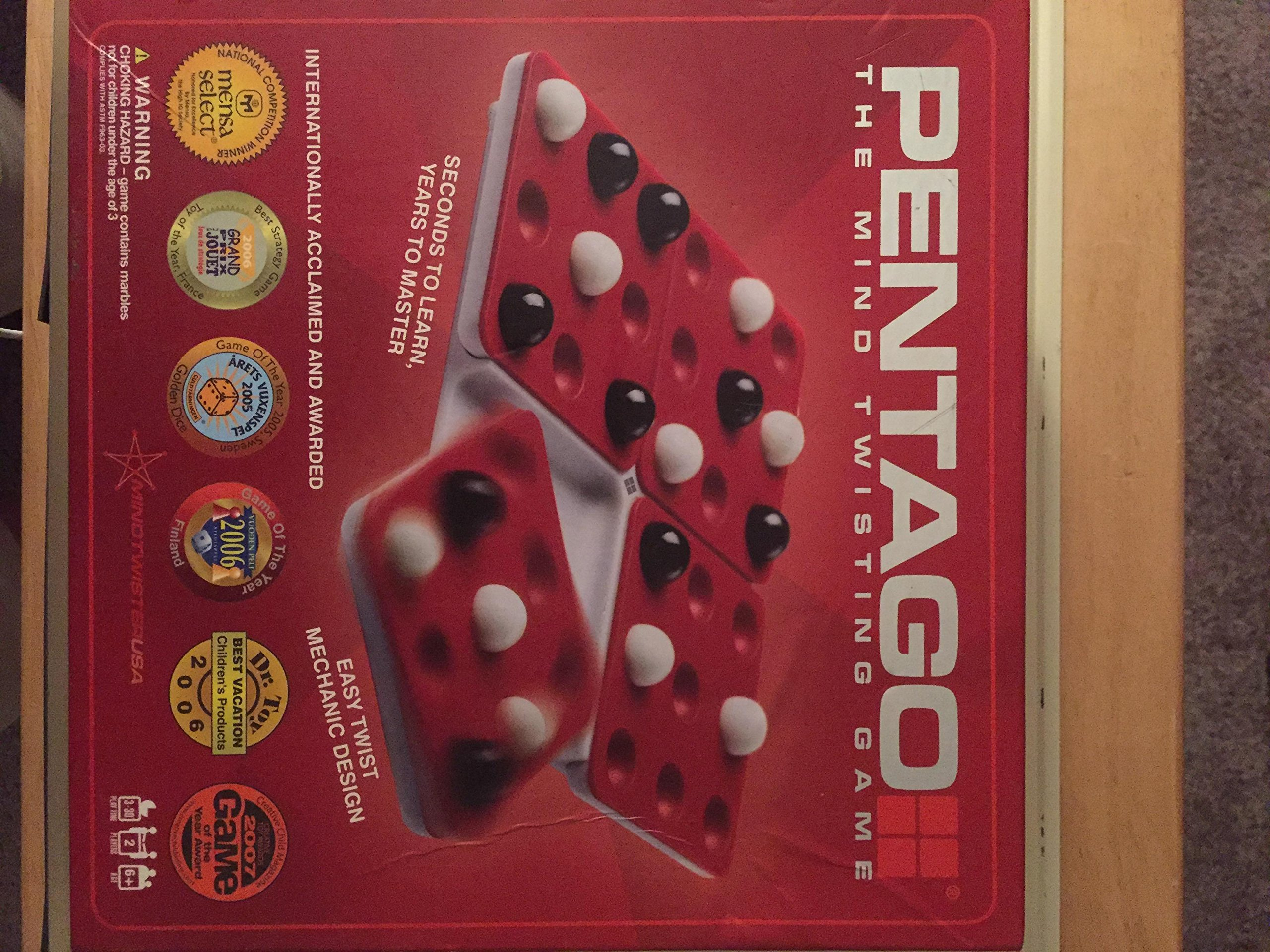 Mindtwister USA Pentago Strategy Game, Travel Edition by Mindtwister USA (Image #1)