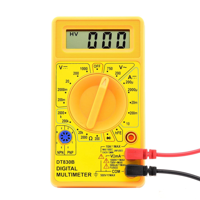 Digital Voltmeter Walmart : Using the m b digital