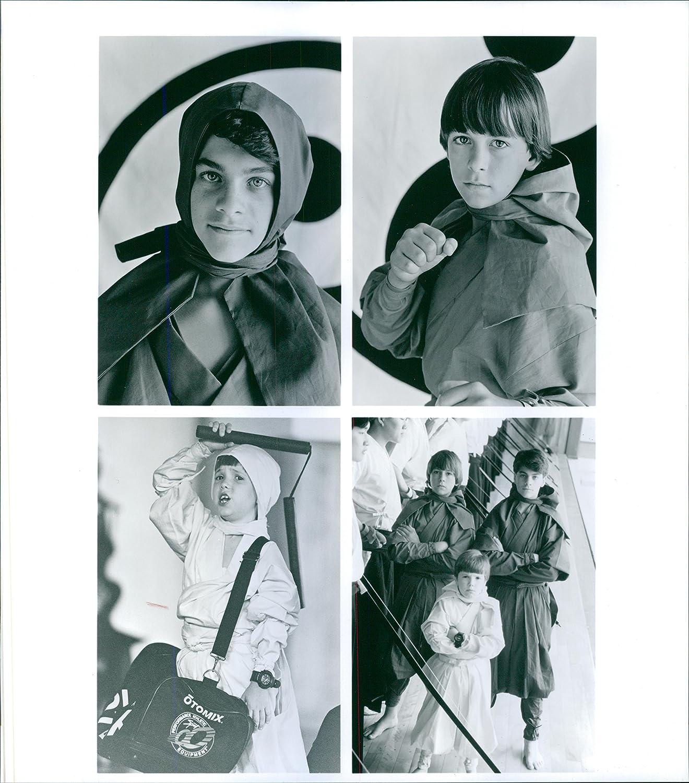Vintage foto de Sean Fox, Max Elliott Slade y J. Evan ...