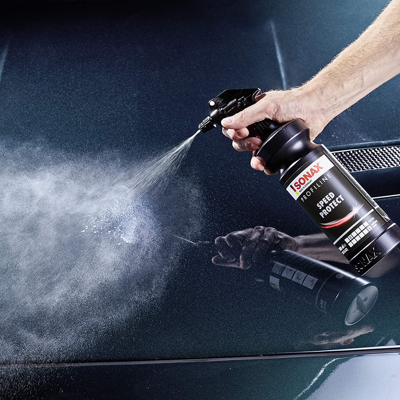 Sonax Profiline Speedprotect 1 Liter Schützendes Schnellfinis Für Neue Neuwertige Oder Mit Einer Politur Aufbereitete Lackoberflächen Art Nr 02884050 Auto