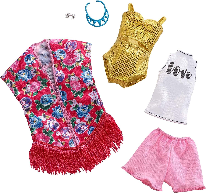 Amazon.es: Barbie Fashionistas - Ropa de Barbie con 2 conjuntos ...