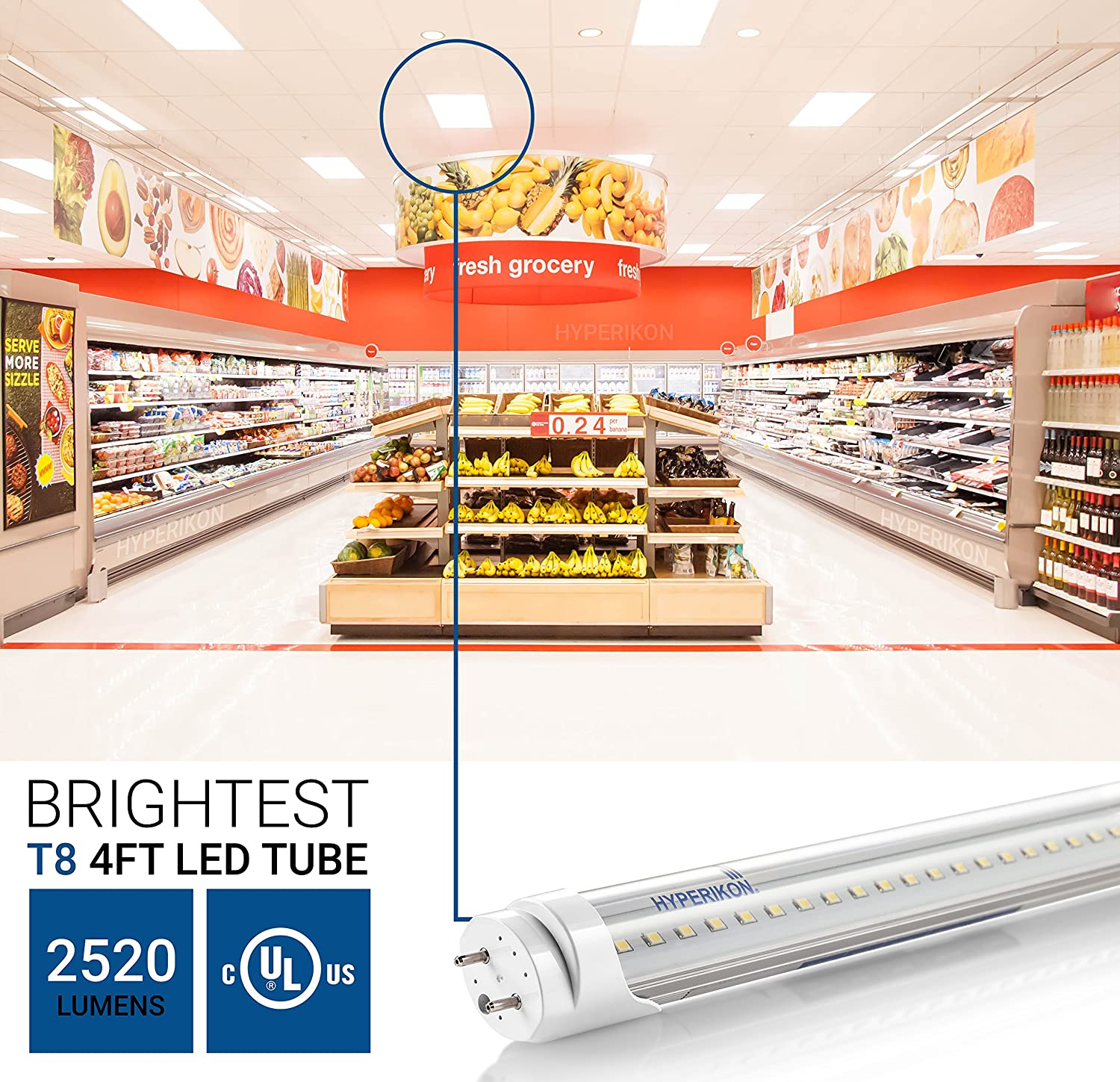 91ZdQnJfRTL._SL1500_ hyperikon t8 t10 t12, 4ft led light tube, dual end powered, works hyperikon wiring diagram at mr168.co