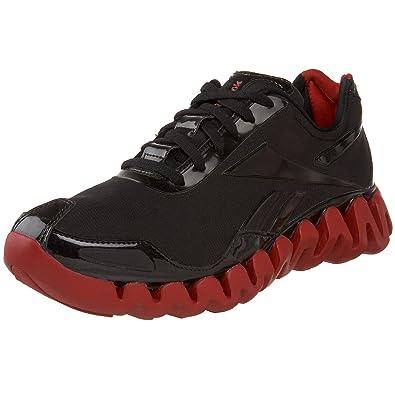 official photos 57bc9 d76ae Reebok Men s Zig Pulse Running Shoe,Black Red,16 ...