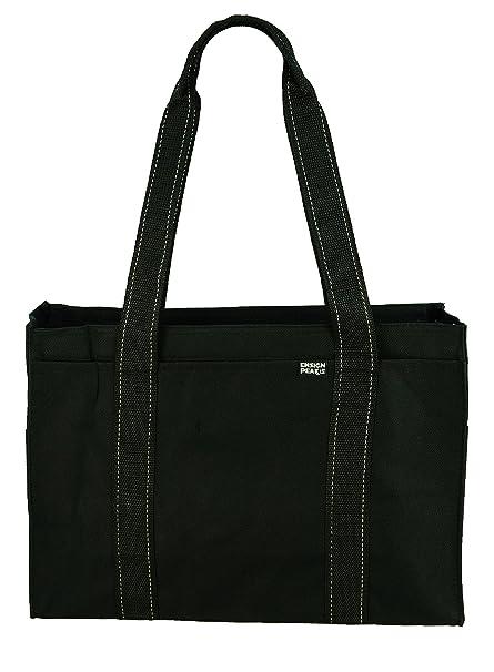 Poly Zipper Tote Bag
