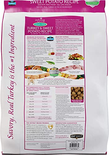 Infinia Turkey and Sweet Potato Grain-Free Adult Dog Food Nutritionally Complete