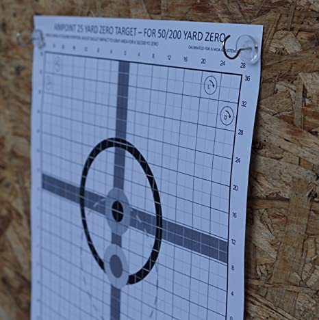Amazon 24 target tacks hang shooting targets outdoor or amazon 24 target tacks hang shooting targets outdoor or indoor paper holder silhouettes at inside outside range for rifle pistol bb or pellet at stopboris Gallery