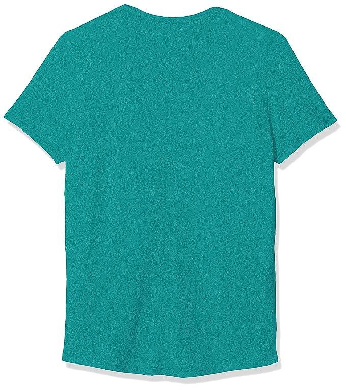 TJM Essential Jaspe Tee T Shirt, (Dynasty Green 399), XXL Homme