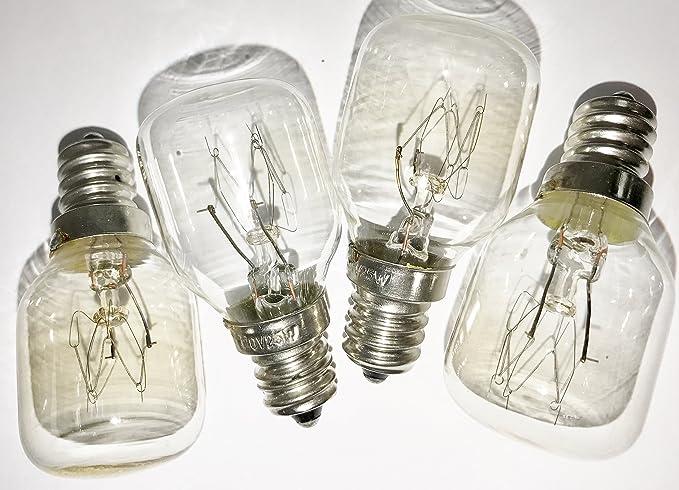 Amazoncom 4 Pack Himalayan Salt Lamp Bulbs 25 Watt 120 Volt 25w