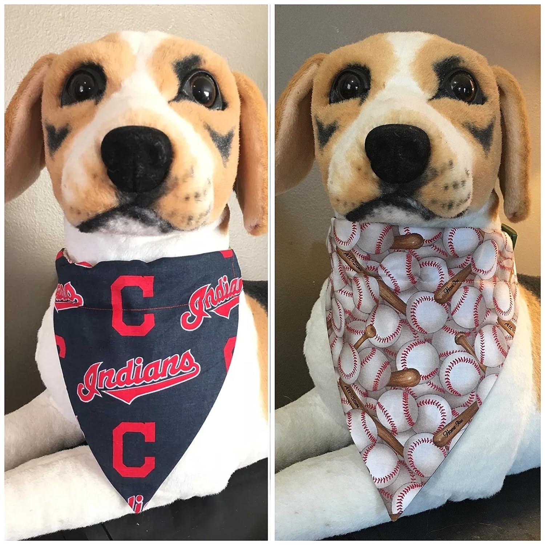Medium//Large Cleveland Indians Dog Bandana
