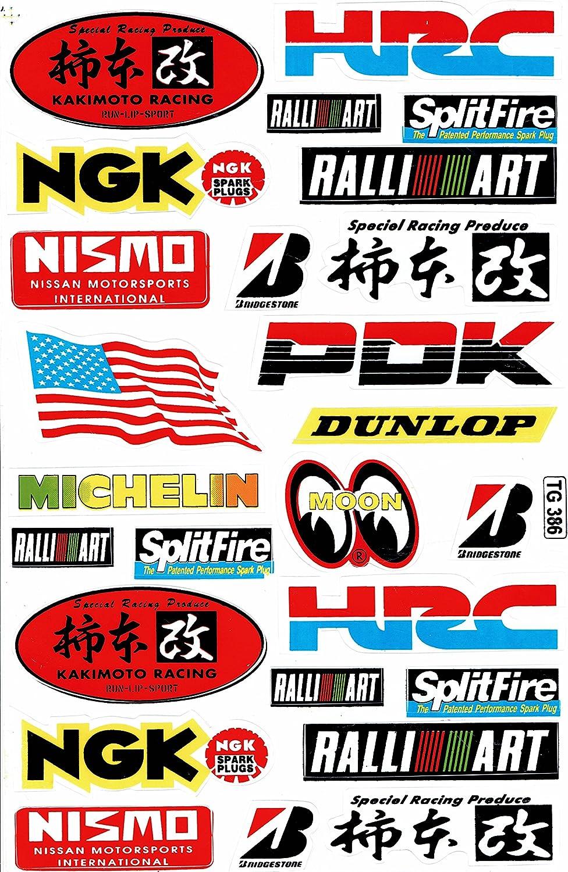Sponsors Sticker Film Weatherproof 1/Sheet 270/x 180/mm