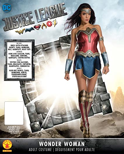 Wonder Woman Fancy Dress Costume Cosplay Outfit Adult Womens Ladies UK 6   Amazon.co.uk  Toys   Games 7e52ef78274f