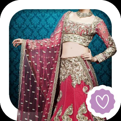Indian Wedding Lehenga Montage