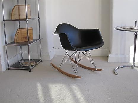 Sedia A Dondolo Rar Eames : Riproduzione rar sedia a dondolo da interni disegnato da eames nel