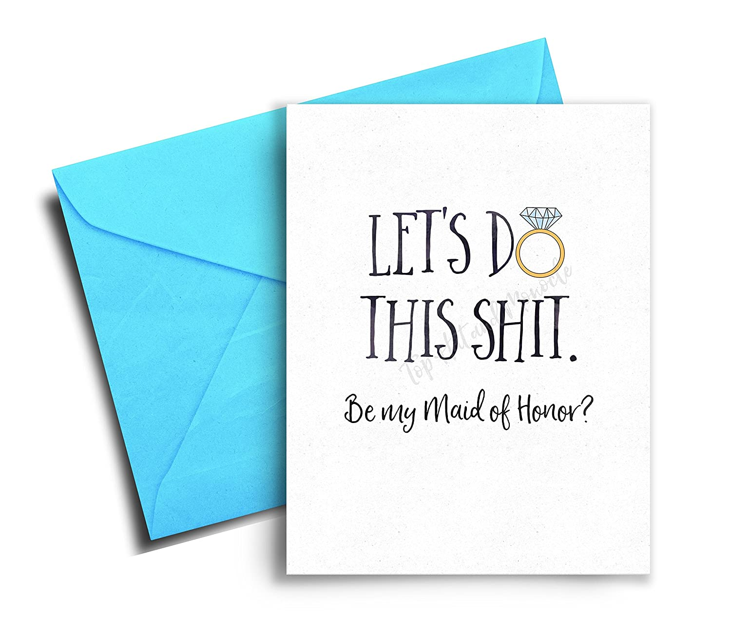 Will you be my Maid of Honor, Maid of Honor Card, Maid of Honor Proposal