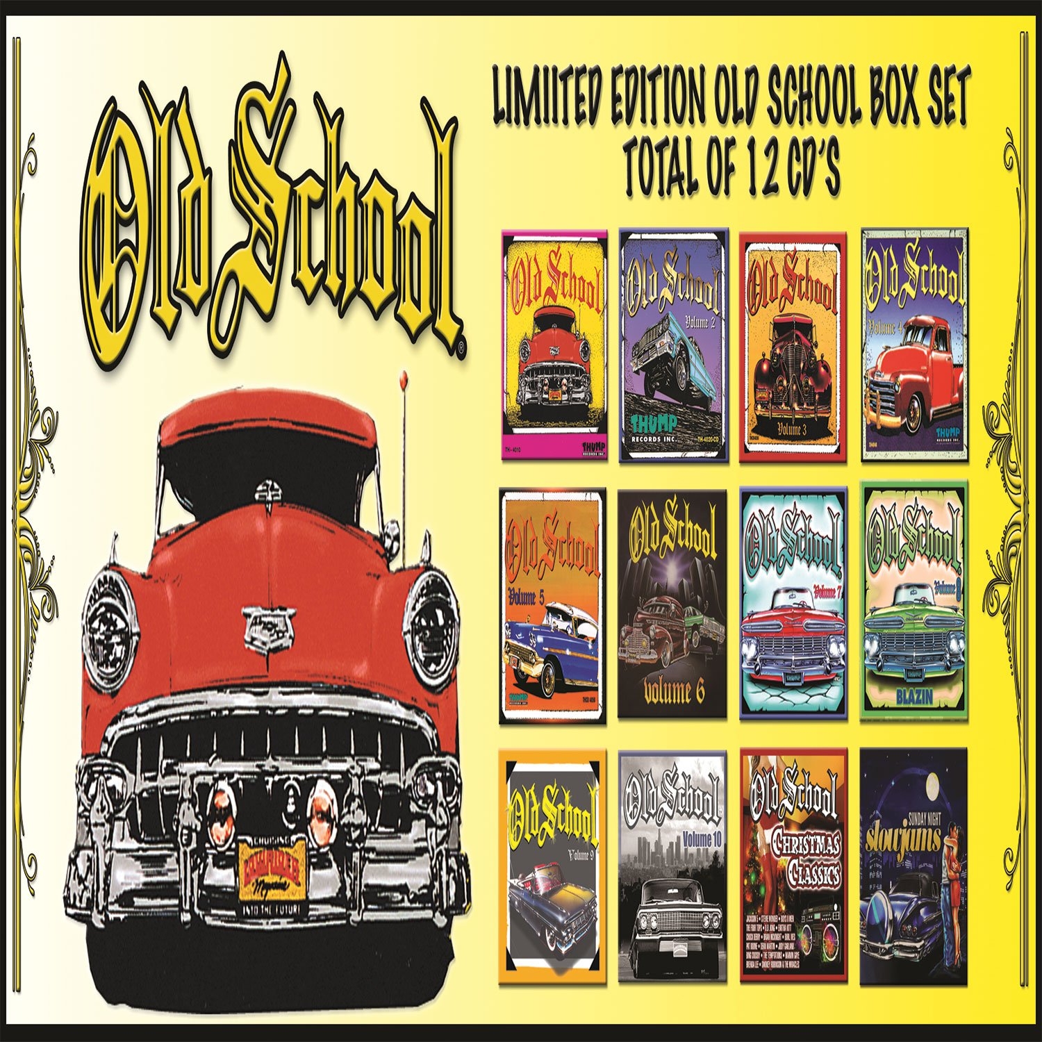 Old School Gold Box Set [12 CD][Box Set] by Thump