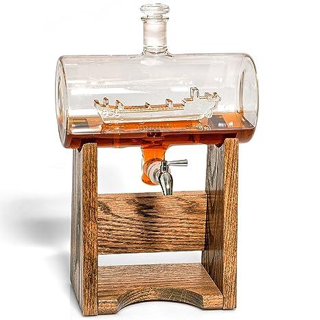 Amazon.com: Liquor Decanter – Decantador de whisky escocés ...