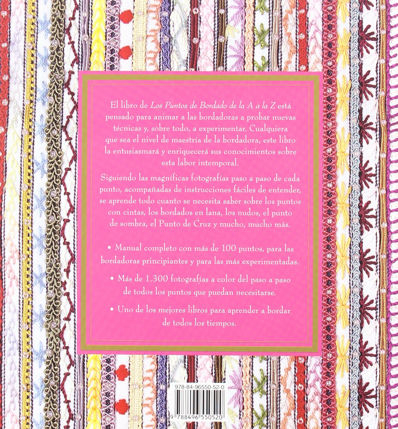 Los Puntos Del Bordado De La a a La Z: Manual Completo Para Todos Los Niveles (Spanish Edition): VV.AA.: 9788496550520: Amazon.com: Books