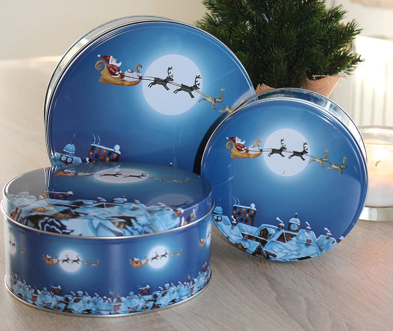 Weihnachtsboxen F/ür S/ü/ßigkeiten Medium 12 ST/ÜCKE Weihnachtsgeschenkboxen Mit Deckel Party Papier Favor Geschenk weihnachtsbaumf/örmige Box Mit Glocken Goldene Schnur