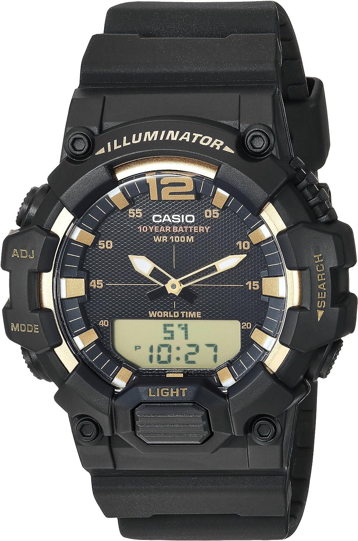 Casio Classic - Reloj de Cuarzo para Hombre, Color Negro (Modelo: HDC-700-9AVCF)