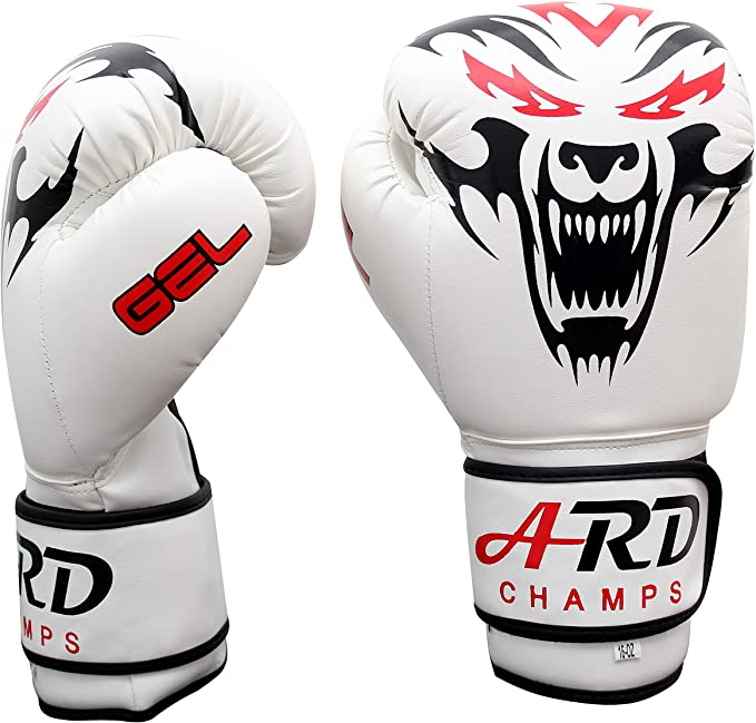 ARD Boxing Gloves Art Leather Punch Training Sparring Kickboxing MMA Fighting