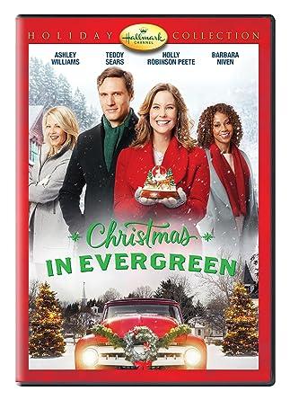 Christmas In Evergreen Hallmark Movie.Amazon Com Christmas In Evergreen Ashley Williams Teddy