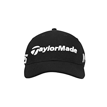 timeless design 13fe3 813a9 ... usa taylormade golf 2018 mens new era tour 39thirty hat black small  medium 00722 f0923