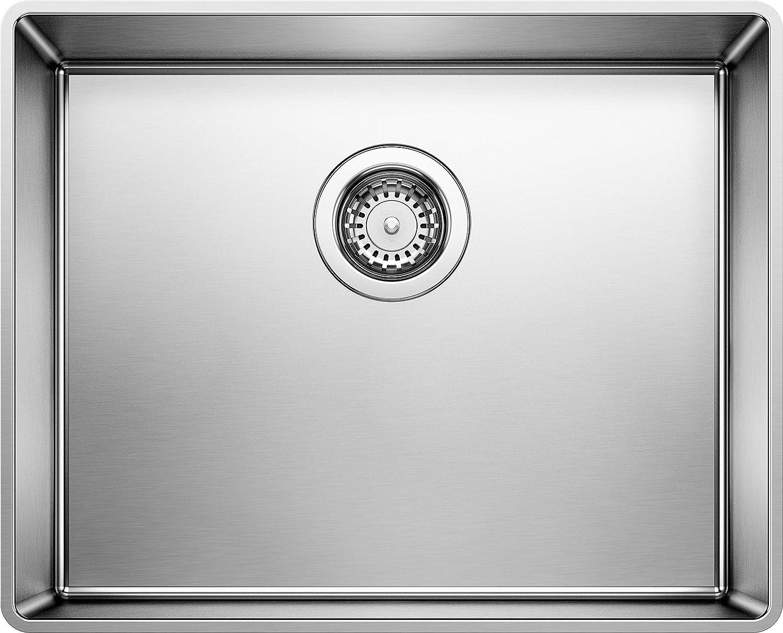Blanco 519594 Attika 26 Inch Elevated Rim Single Bowl Kitchen Sink Large Stainless Steel By Blanco Amazon Co Uk Diy Tools