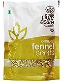Pure & Sure Organic Seeds, Fennl, 100g