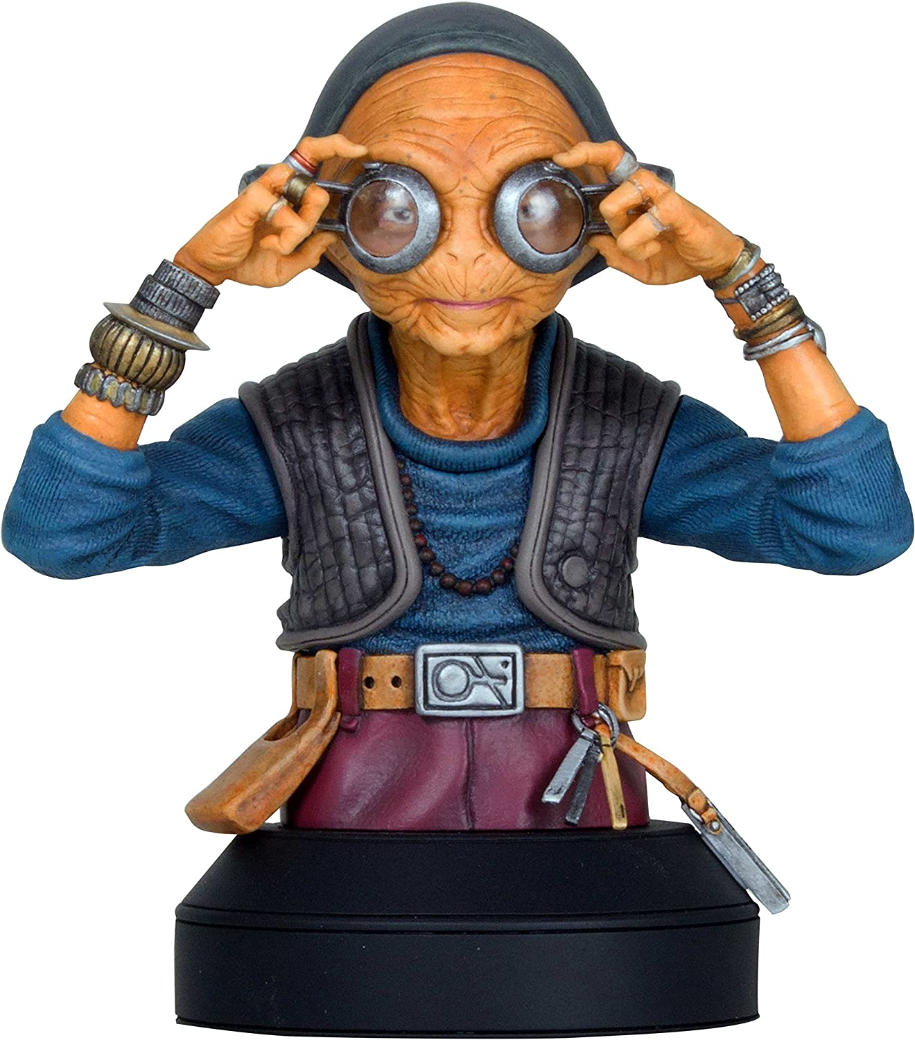 Gentle Giant Star Wars Maz Kanata Mini Busto Estatua: Amazon.es ...