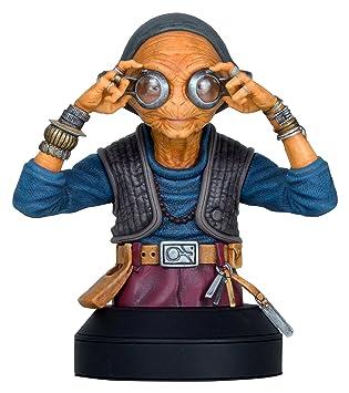 fda1d71f6786 Gentle Giant Star Wars MAZ Kanata Mini Büste Statue  Amazon.de  Spielzeug