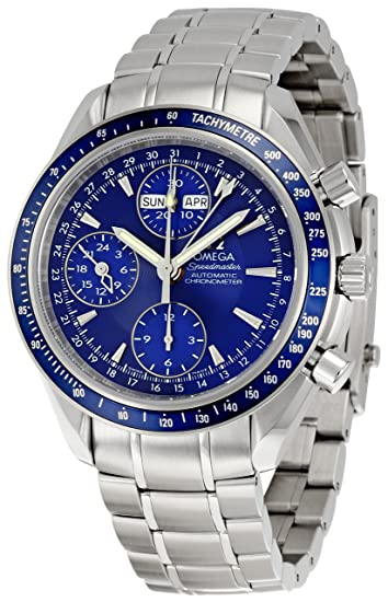 Omega 3222.80 - Reloj de pulsera hombre, acero inoxidable