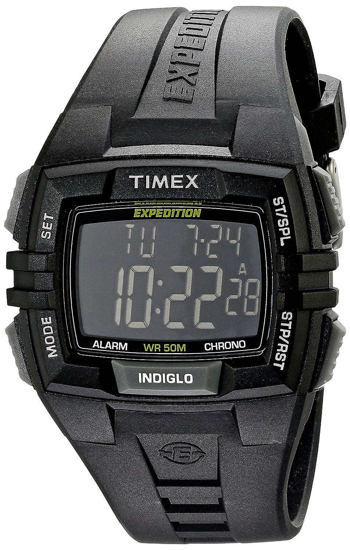 amazon com timex men s t49900 expedition rugged wide digital watch rh amazon com Timex Indiglo Instruction Manual Timex Indiglo Alarm Watch Manual