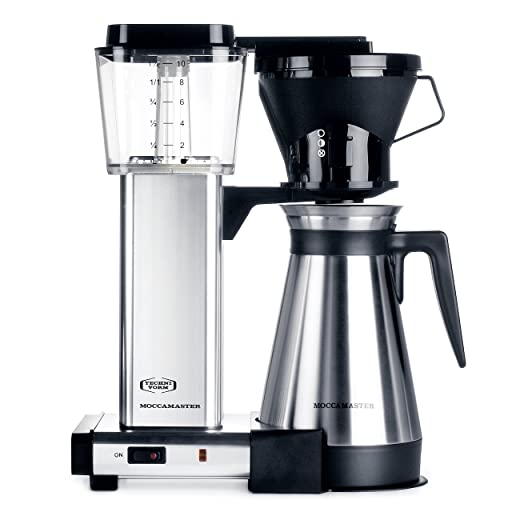 Moccamaster KBT 10-Cup Coffee Brewer with Thermal Carafe