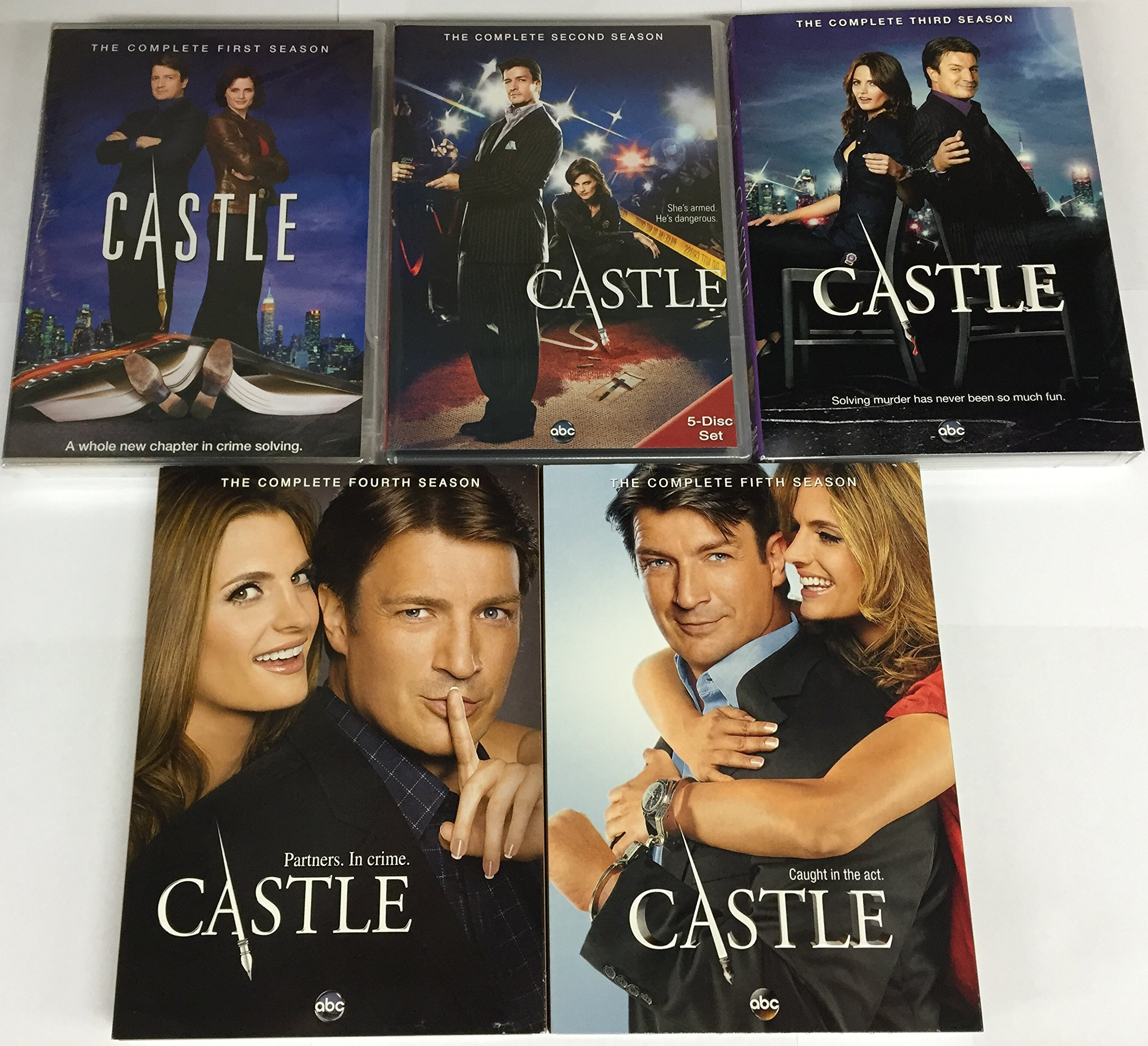 Castle: Season 1-5 (2013) by abc Studios