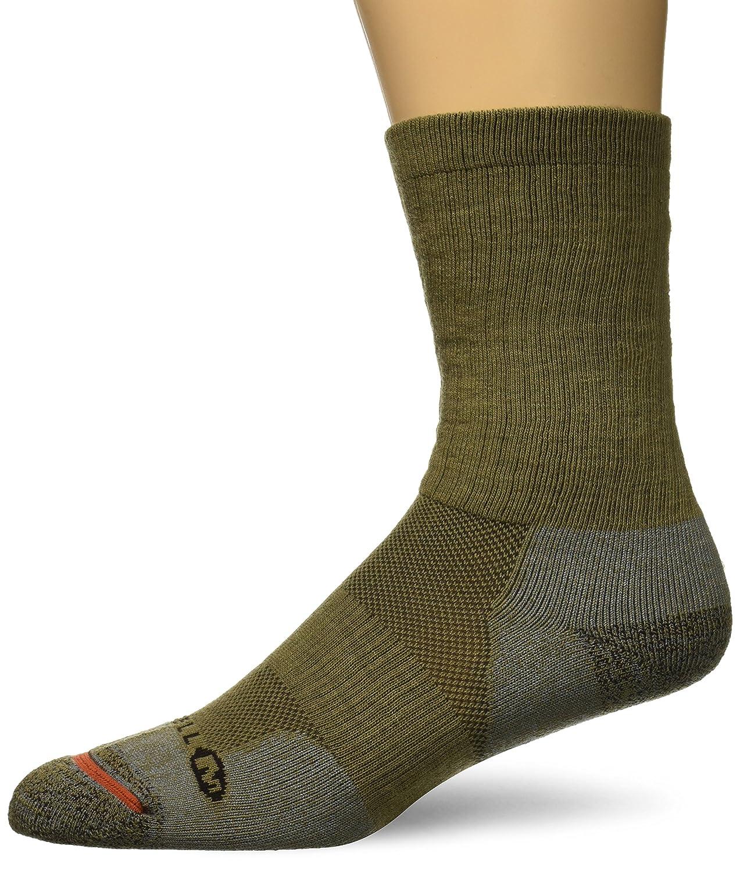 Merrell mens standard Work Crew Sock Black m/l MEMF17H013-01
