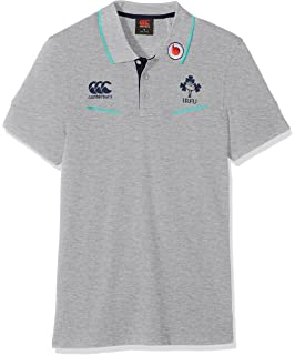a86ee5765c6 Canterbury Ireland Official 17/18 Men's Rugby Vapodri Cotton Pique ...