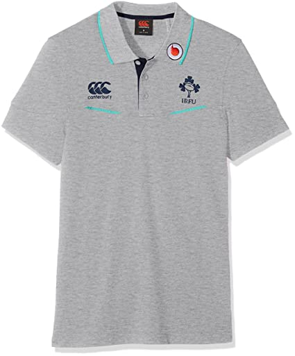 679a986bed9 Classic Marl Sports & Outdoors Canterbury 2016-2017 Ireland Rugby Cotton  Training Polo Football Soccer T-Shirt Jersey