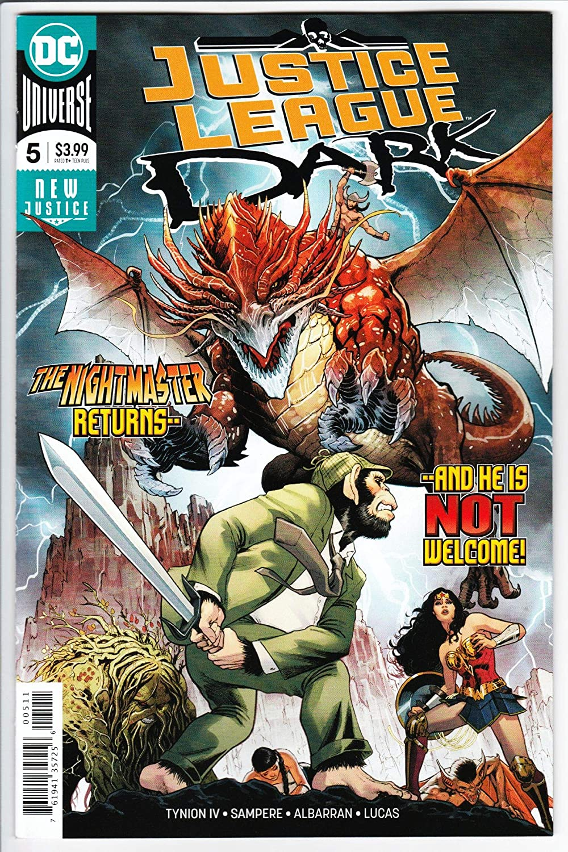 Justice League Dark #5 Main Cvr (DC, 2018) NM