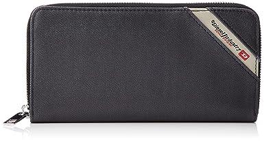 Amazon.com: Diesel Mens Denimline 24 Zip-Wallet: Clothing