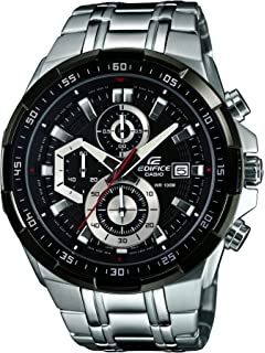 Casio Mens Chronograph Quartz Watch with Stainless Steel Strap EFR ... 8e7d53593de