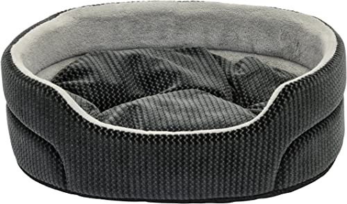 Dallas Manutacturing Co. Textured 19 Oval Pet Bed