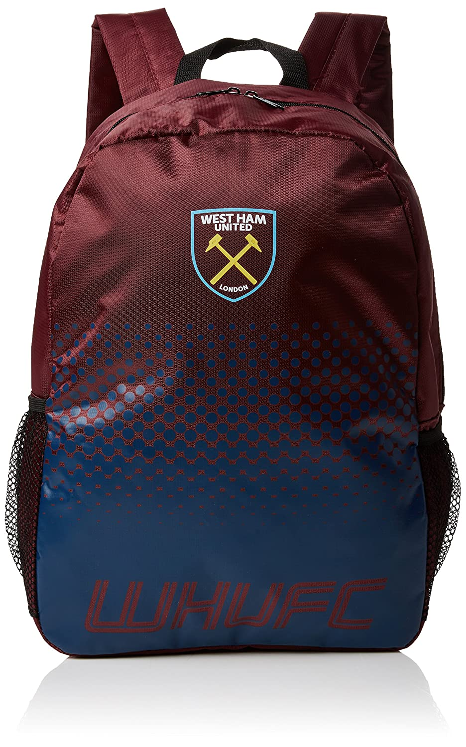 ba77f3a9a0bd West Ham United FC Fade Design Football Crest Backpack Football Souvenirs  UTSG10145 1
